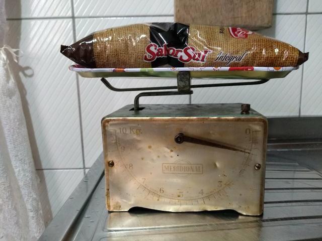 Balança de cozinha Anos 60 Antiga 160,00 - Foto 2