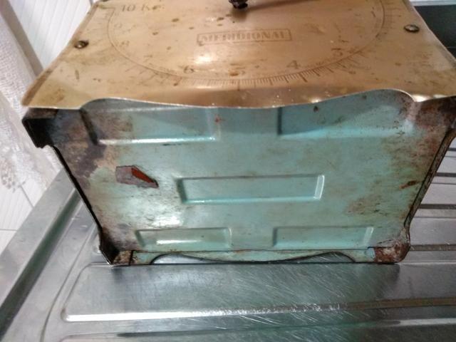 Balança de cozinha Anos 60 Antiga 160,00 - Foto 6