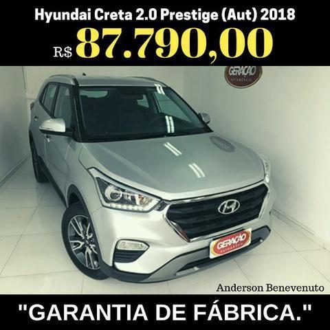 Hyundai Creta 2.0 Prestige (Aut) - 2018