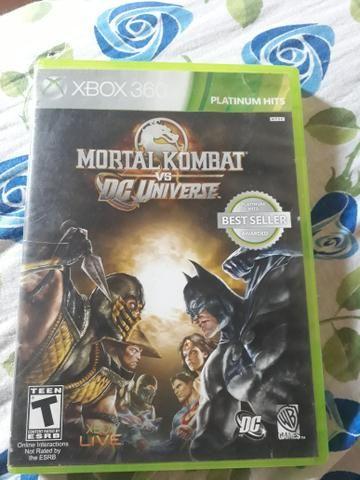 Vendo Mortal kombat vs DC Universe Xbox 360