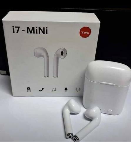 R$ 45 Fone Bluetooth i7 mini - Foto 2