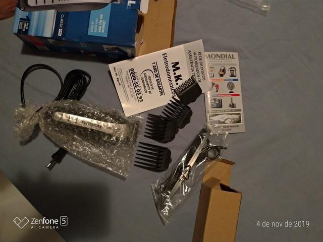 Máquina de cortar cabelo mundial - Foto 3