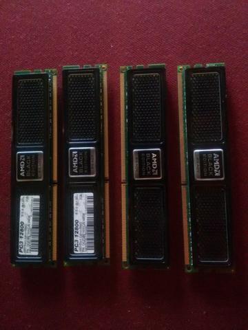 Memorias ddr3 4x2 8.GB 1600Mhz OCZ Black Edition - Foto 2