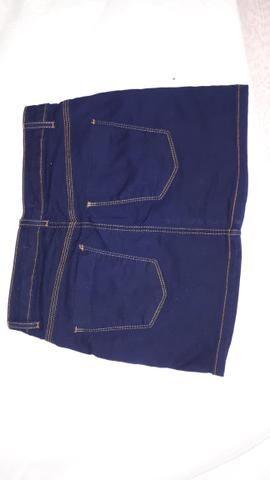 Saia Jeans escuro - Foto 3