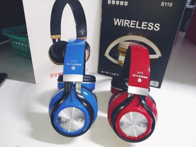 Fone De Ouvido Bluetooth Sony S110 Novo - Foto 3