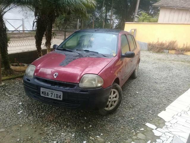 Vendo Clio Sedan 2001 - R$ 7000,00 - Foto 3