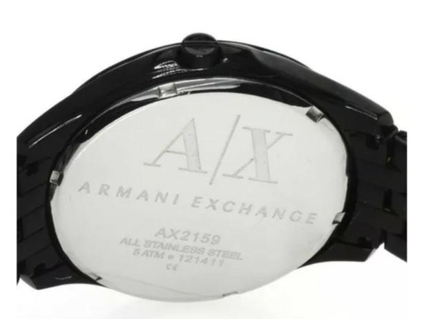 Relógio Armani Exchange Slim Black Ax2159 - Foto 4