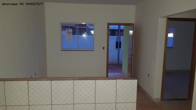 Casa para venda em várzea grande, paiaguas, 2 dormitórios, 1 banheiro, 2 vagas - Foto 7