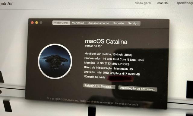 Macbook air mod 2018
