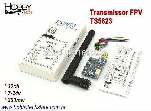 Transmissor Fpv 5.8g 32ch 200mw