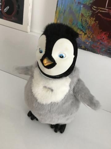 Happy Feet - boneco que canta e dança do filme - Foto 3