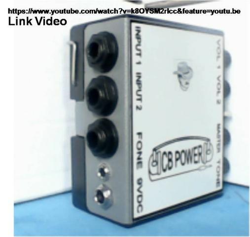 Retorno de fone CB Power com fonte estabilizada - Foto 2