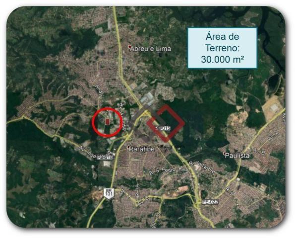 Terreno à venda, 30000 m² - distrito industrial - abreu e lima/pe