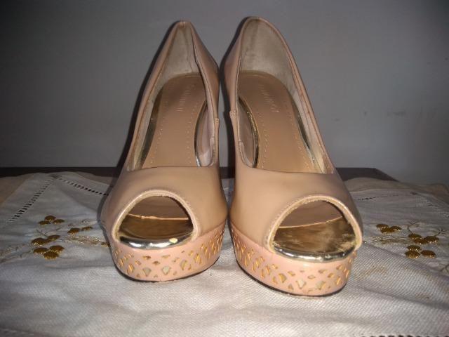 40c9a729c1 Sapato de salto alto da Aquamar número 35 - Roupas e calçados ...