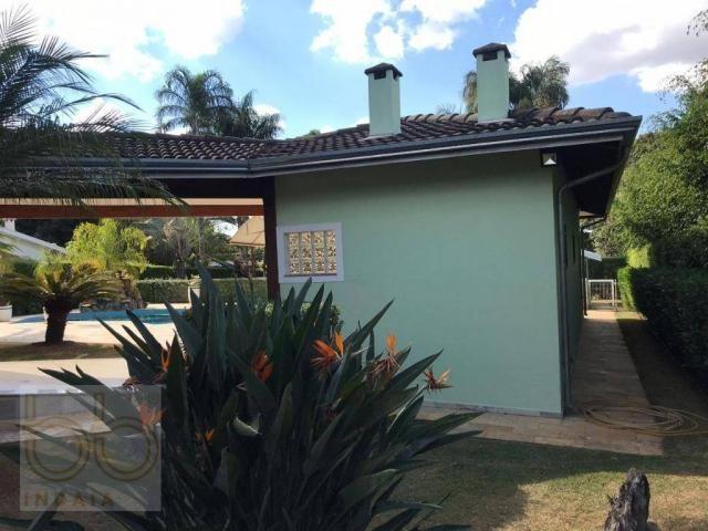 Casa com 4 dormitórios para alugar, 578 m² por R$ 12.000,00/mês - Condomínio Helvetia Coun - Foto 11