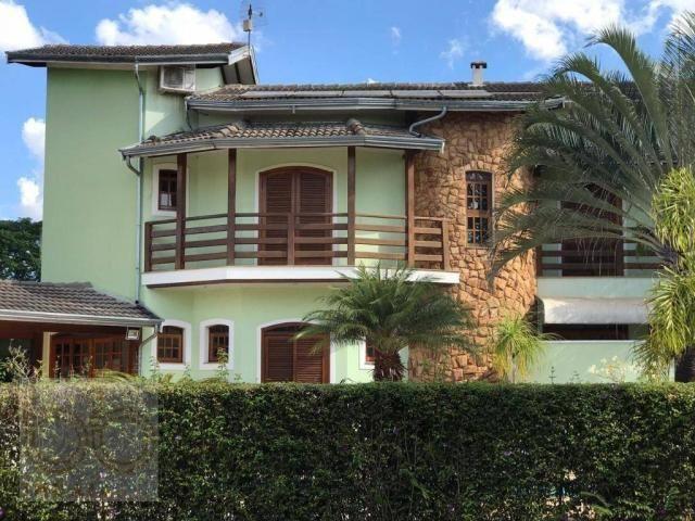 Casa com 4 dormitórios para alugar, 578 m² por R$ 12.000,00/mês - Condomínio Helvetia Coun
