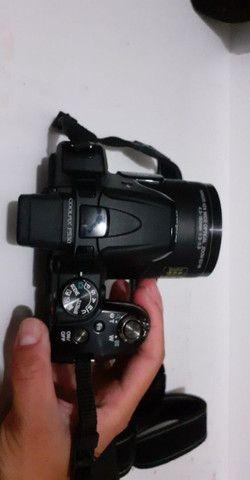 Câmera semi profissional Nikon  - Foto 6
