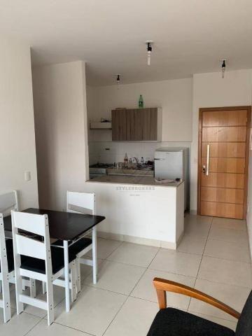Apartamento Flat no Della Rosa 1 com 1 dormitório à venda, 47 m² por R$ 190.000 - Ribeirão - Foto 10