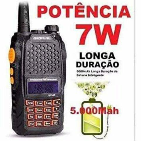 Rádio comunicador baofeng uv-6r - Foto 6
