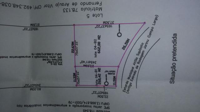 Salão Comercial com projeto aprovado em terreno de 922m² Próximo ao B. Maracanã em Jarinu - Foto 20