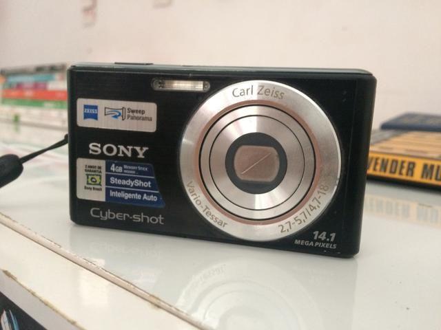 Câmera sony cybershot 14.1 megapixels - Foto 4