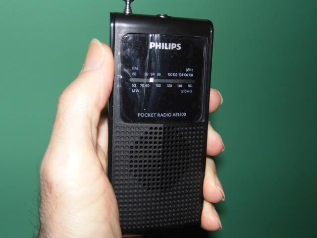 Philips am/fm novo na caixa viva o tempo em que escutavamos tudo no radio