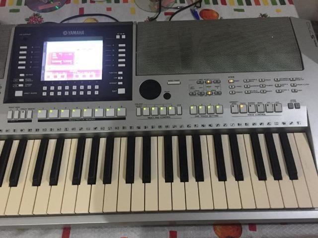 Teclado Profissional Arranjador Yamaha PSR 710 - Foto 3