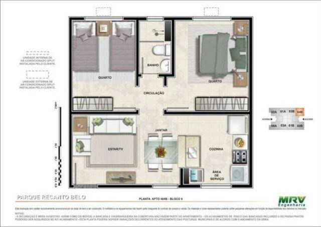 Apartamento Recanto Belo - Foto 19