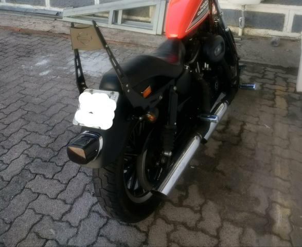 Sissy Bar Harley 883R, iron, sportster - Foto 5