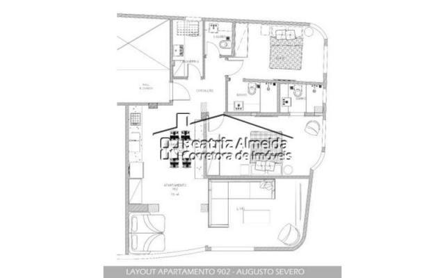 Lindo AP na Gloria (todo reformado), 2 qts suites, área de serviço - Foto 13