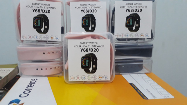 Relógio digital inteligente smartwatch - Foto 3