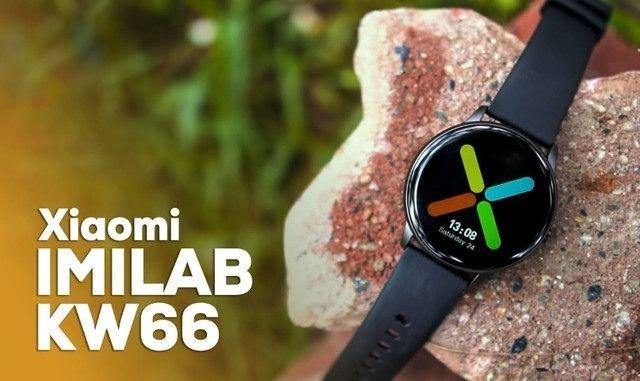 Smartwatch Xiaomi Imilab Kw66 Preto