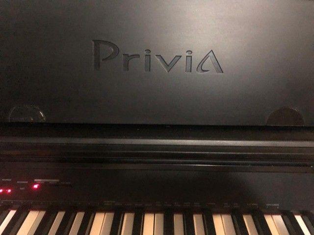 Piano Eletronico Casio Privia PX-750 - Foto 3