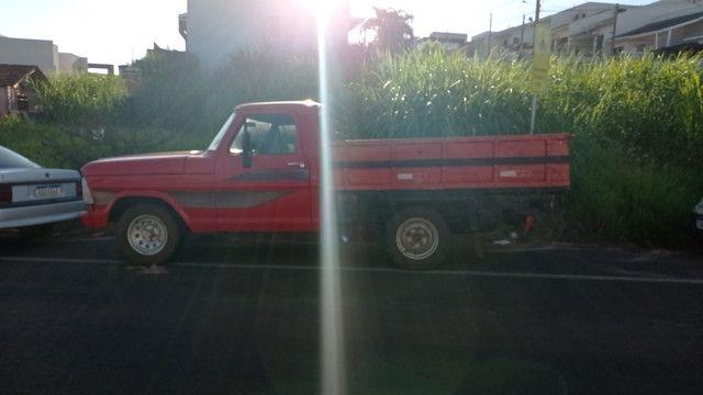 Vendo ou troco f100 diesel - Foto 4