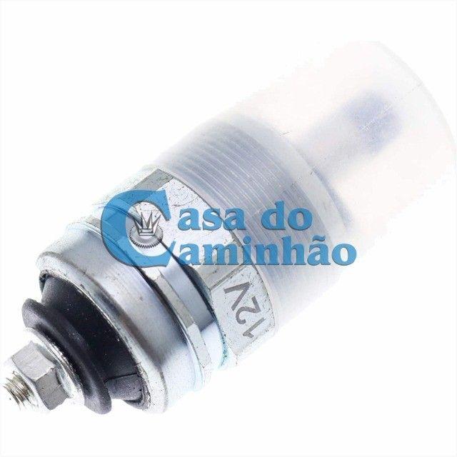 Válvula Solenóide De Corte 12v - Mercedes / Ford / Vw / Gm - Foto 3