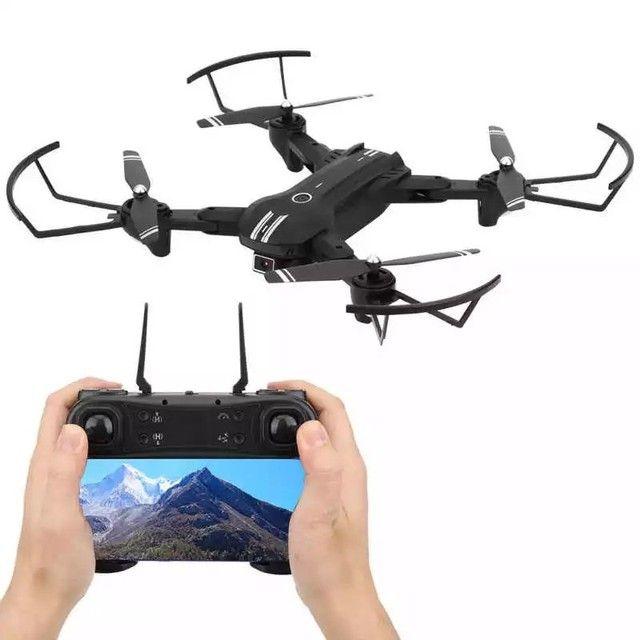 10X Sem Juros Drone com Câmera FPV H68 a Pronta entrega com Bag - Foto 5