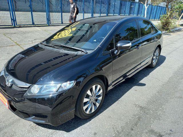 Honda New Civic 2011 lxl.raridade.Financiamento sem entrada - Foto 8