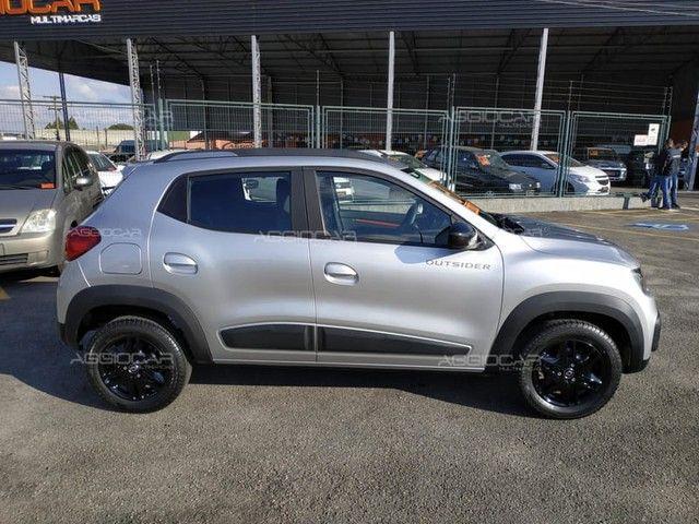 Renault KWID OUTSIDER 1.0 2021 700 km ipva pago - Foto 7