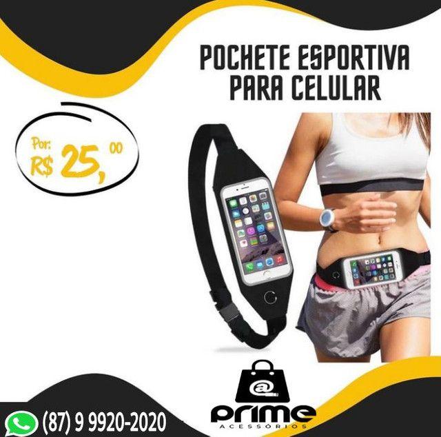 Bracelete ou Pochete Fitness - Preço nas imagens