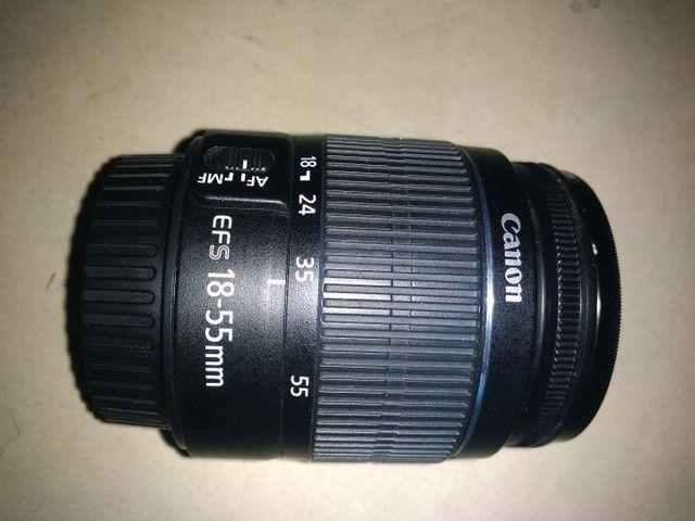 Lente Canon 18/55m nova zero - Foto 2