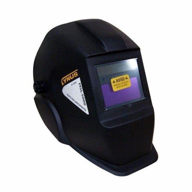 Máscara De Solda Lynus MSL-5000 Escurecimento Automático - Foto 4