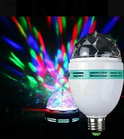Lâmpada Giratória RGB  - Foto 2