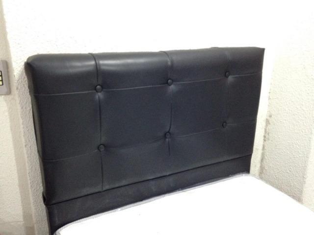 Cabeceira estofada Conforto Total Duquesa solteiro 90 cm - Foto 4
