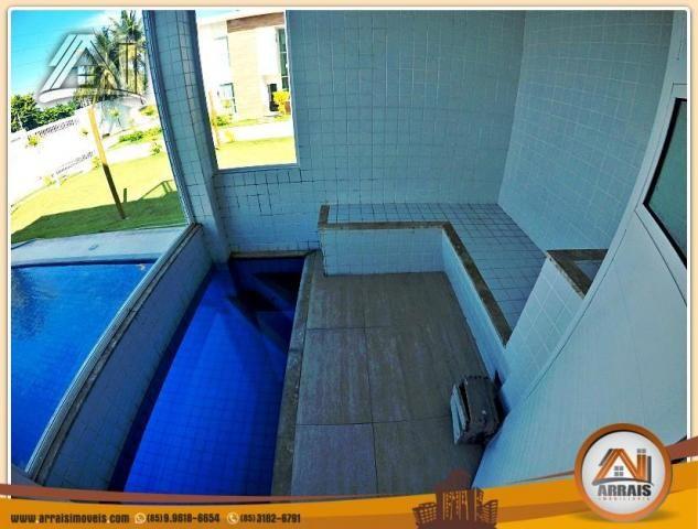 Vendo casa duplex em condomínio c/ 3 suítes no Eusébio - Foto 3