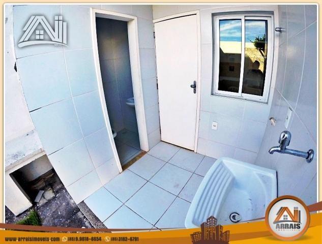Vendo casa duplex em condomínio c/ 3 suítes no Eusébio - Foto 11