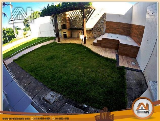 Vendo casa duplex em condomínio c/ 3 suítes no Eusébio - Foto 12
