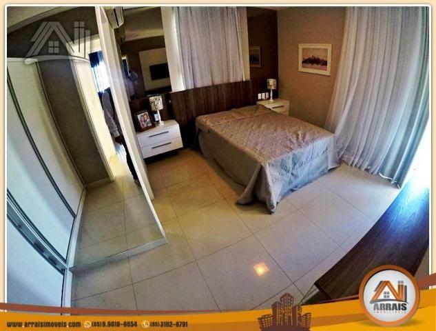 Vendo casa duplex em condomínio c/ 3 suítes no Eusébio - Foto 15