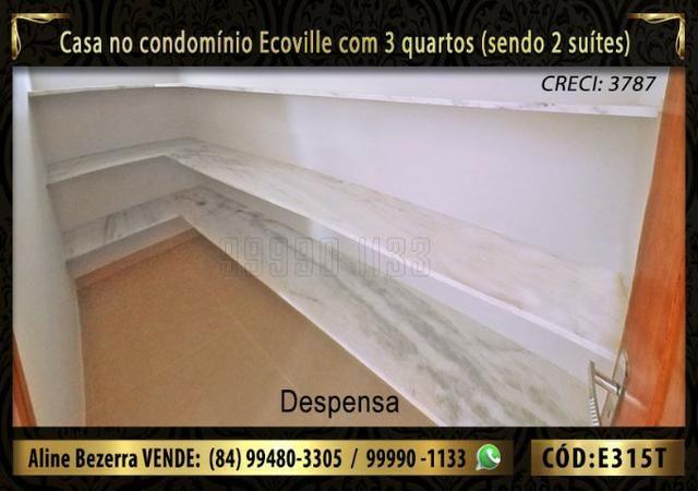 Oportunidade, casa no Ecoville com 3 quartos sendo 2 suítes, aceita financiamento - Foto 6