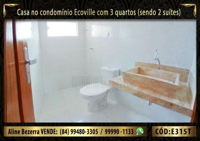 Oportunidade, casa no Ecoville com 3 quartos sendo 2 suítes, aceita financiamento - Foto 8