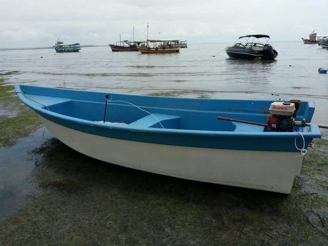 Barco de Fibra 6mt comp por 1.80 boca - Foto 6